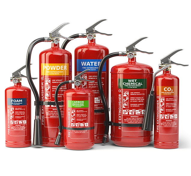 fire extinguisher retail store